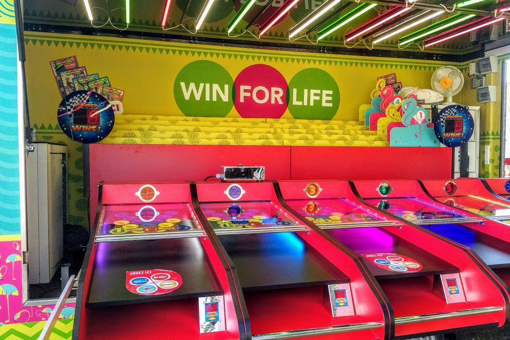 Win for life aanhangwagen binnenkant