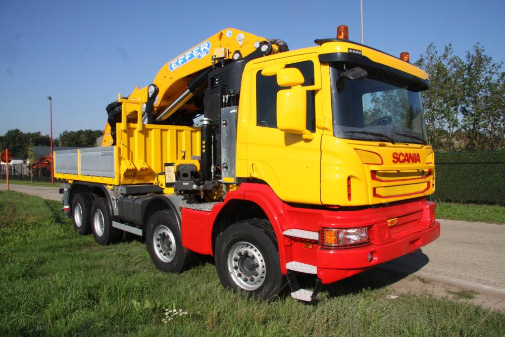 Schildering Scania