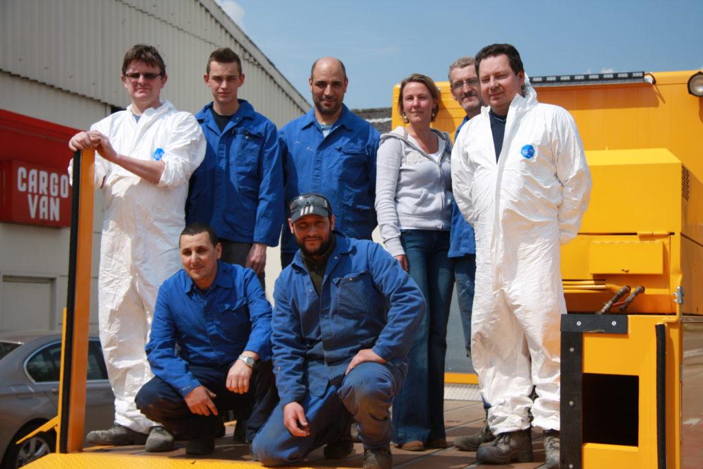 Het Cargo Service team